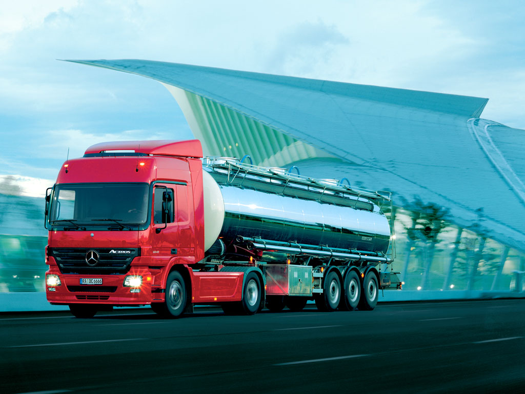 Mercedes benz actros mp2 commercial vehicles trucksplanet for Mercedes benz astros