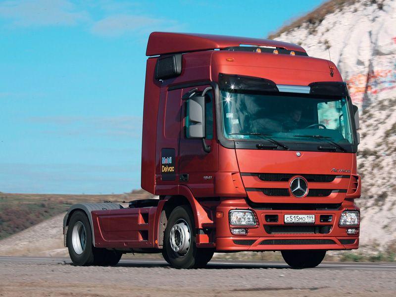 Mercedes Benz Star Logo >> Mercedes-Benz Actros MP3 (Commercial vehicles) - Trucksplanet