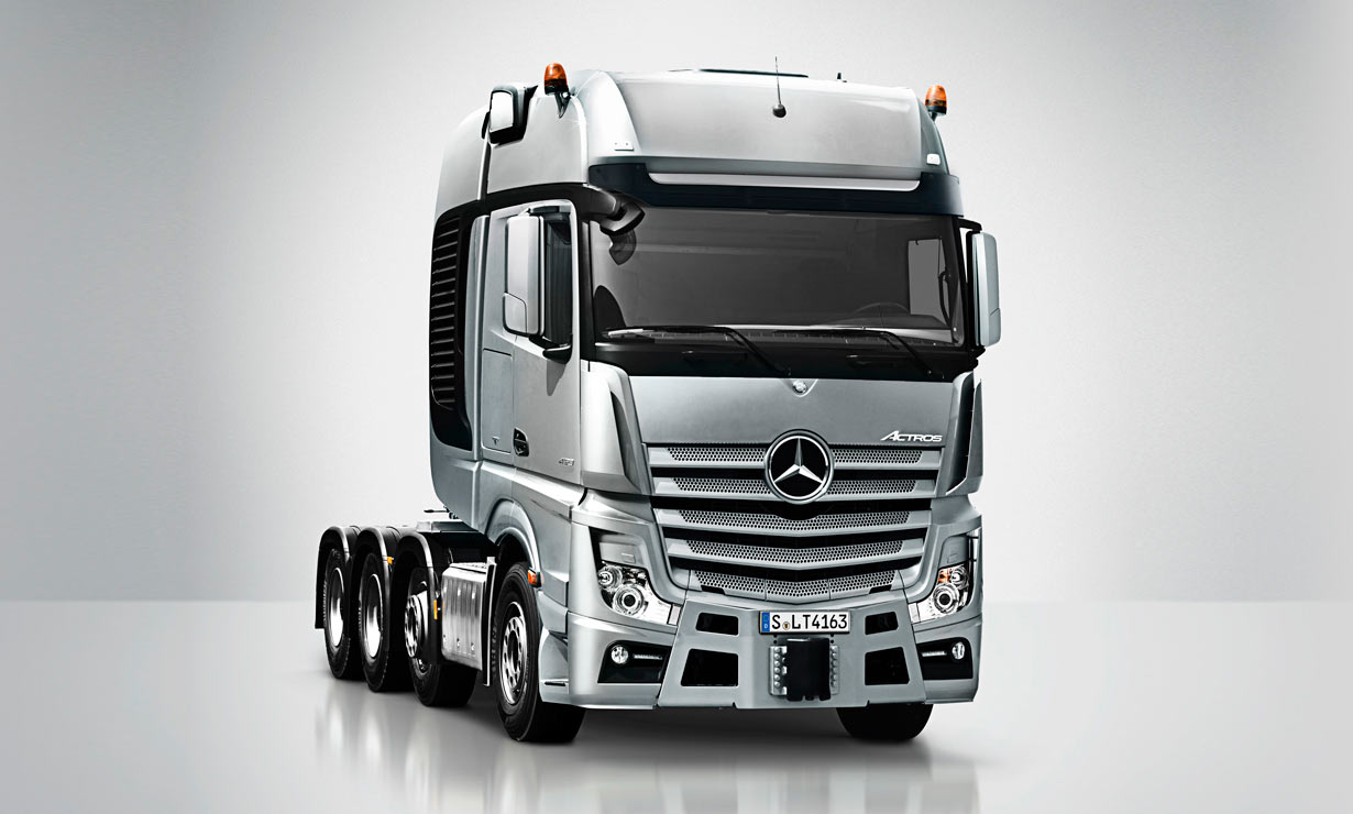 Mercedes benz actros iv slt commercial vehicles for Mercedes benz astros