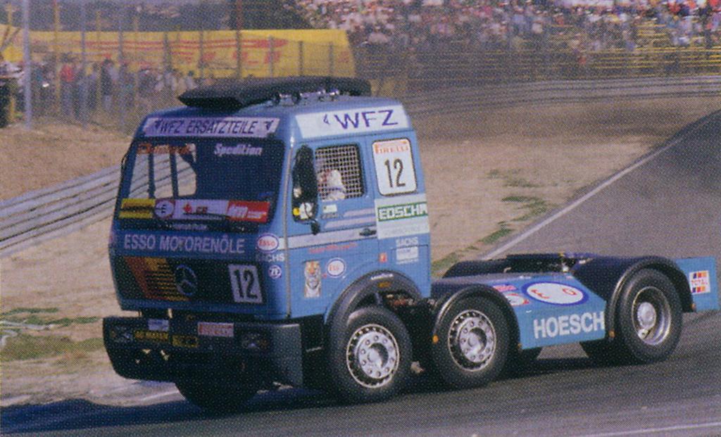Mercedes Benz Ng 2250 Race Truck Racing Vehicles