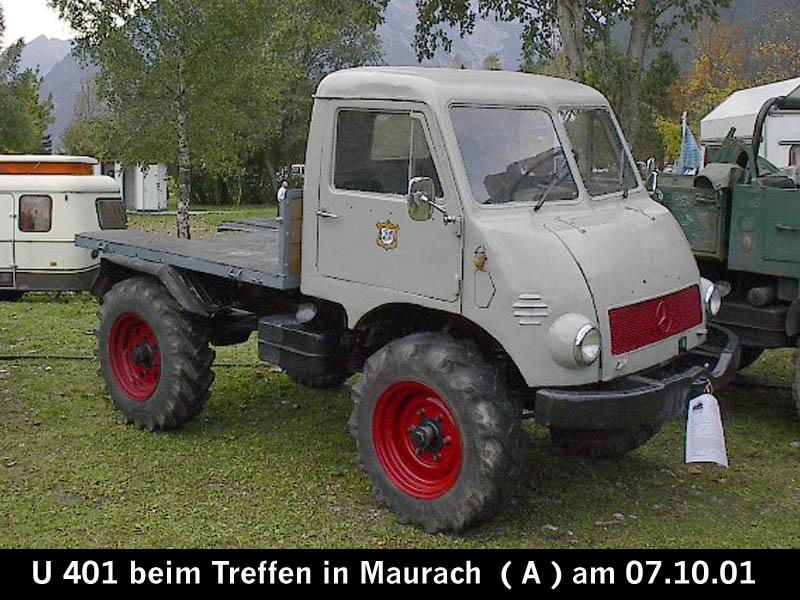 Unimog 401 Mercedes-Benz Unimog 4...