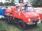 Unimog 411 with a closed cabin