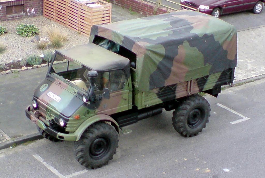 Mercedes-Benz - Unimog 413 / 416 (Military vehicles) - history, photos ...
