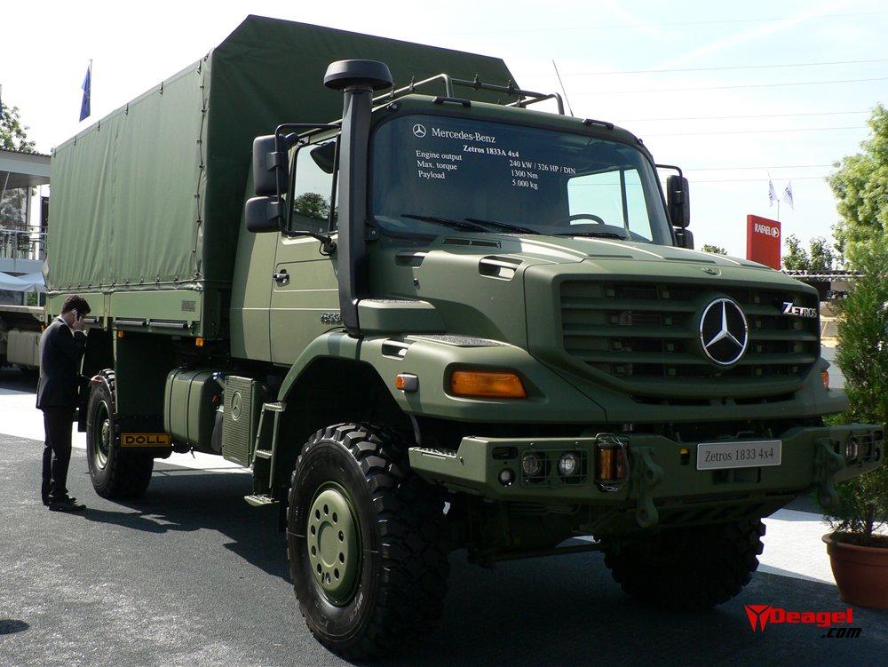Mercedes benz zetros military vehicles trucksplanet for Mercedes benz zetros 6x6