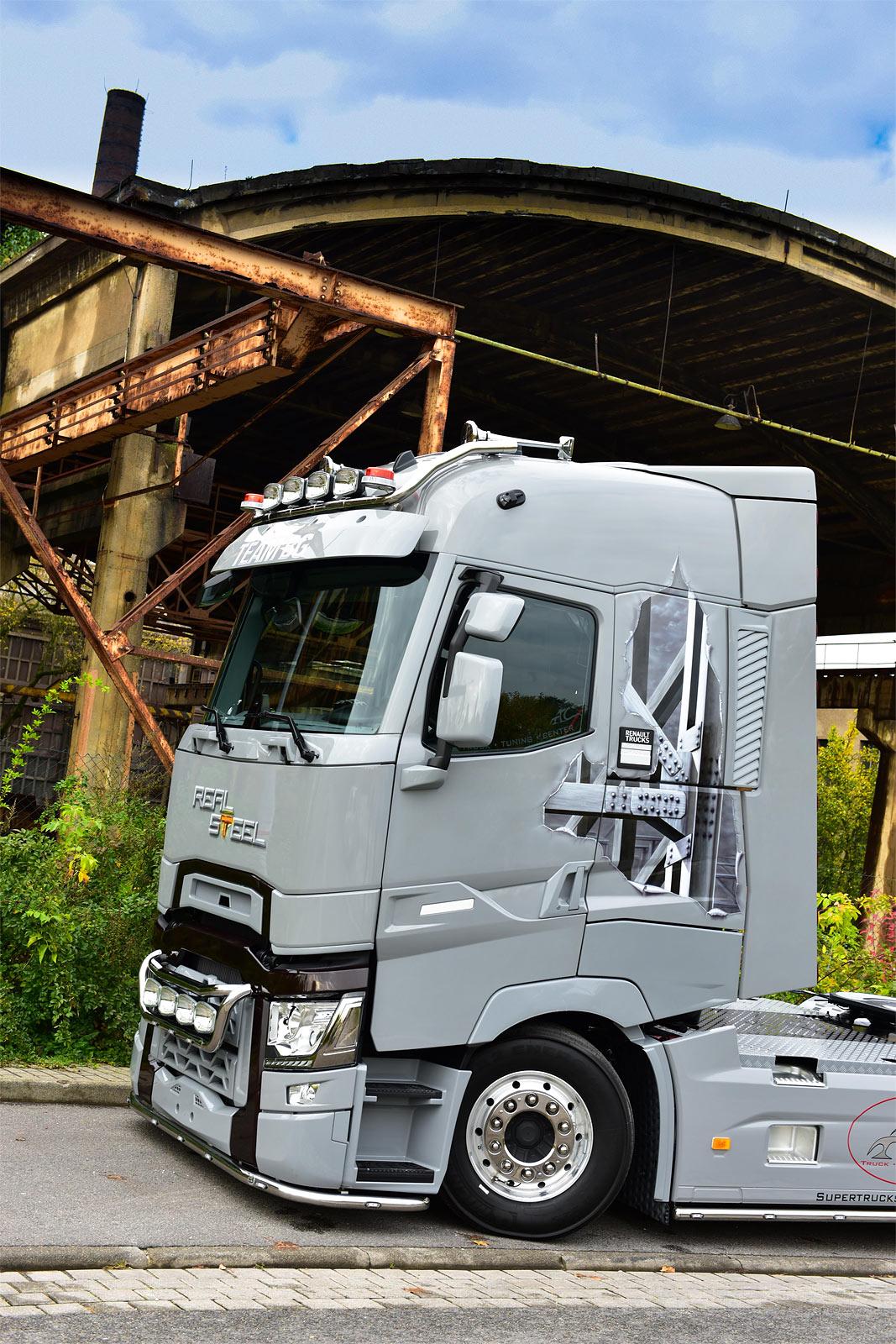 renault t high 520 real steel limited editions trucksplanet. Black Bedroom Furniture Sets. Home Design Ideas