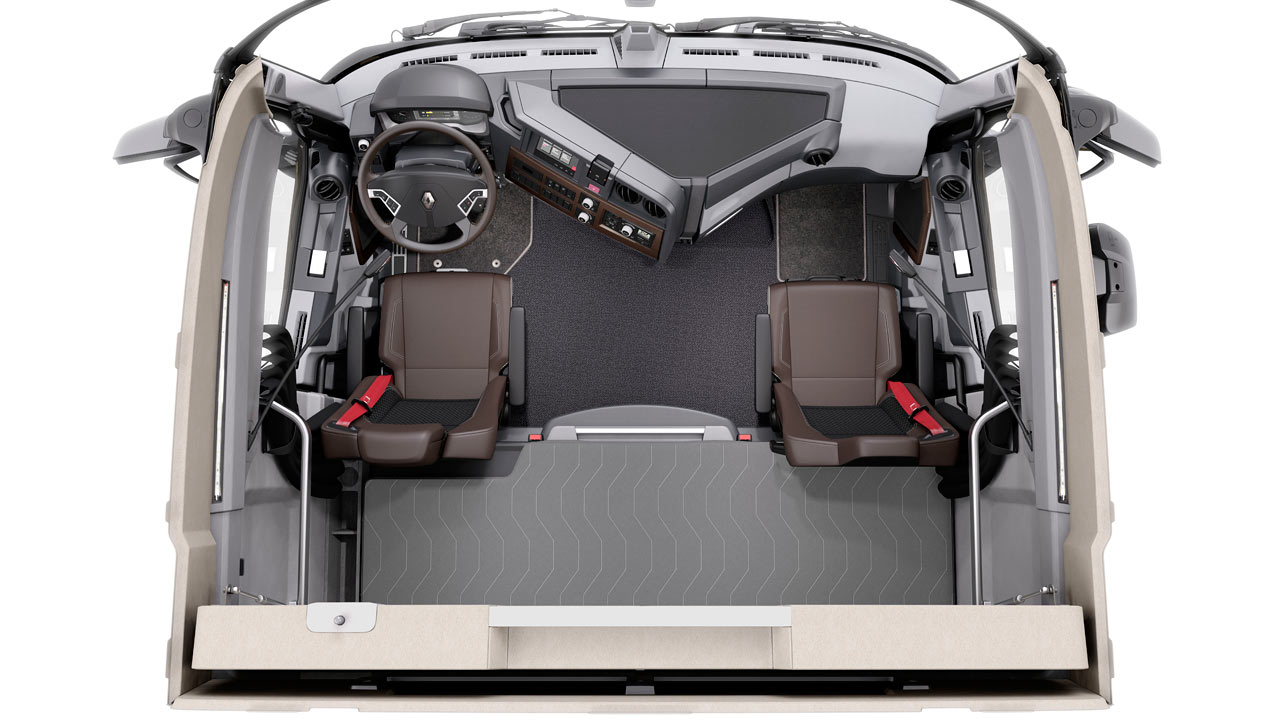 Renault t commercial vehicles trucksplanet for Renault gamme t interieur