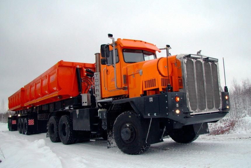 Najextrémnejší nákladiak na svete - Tonar-7502