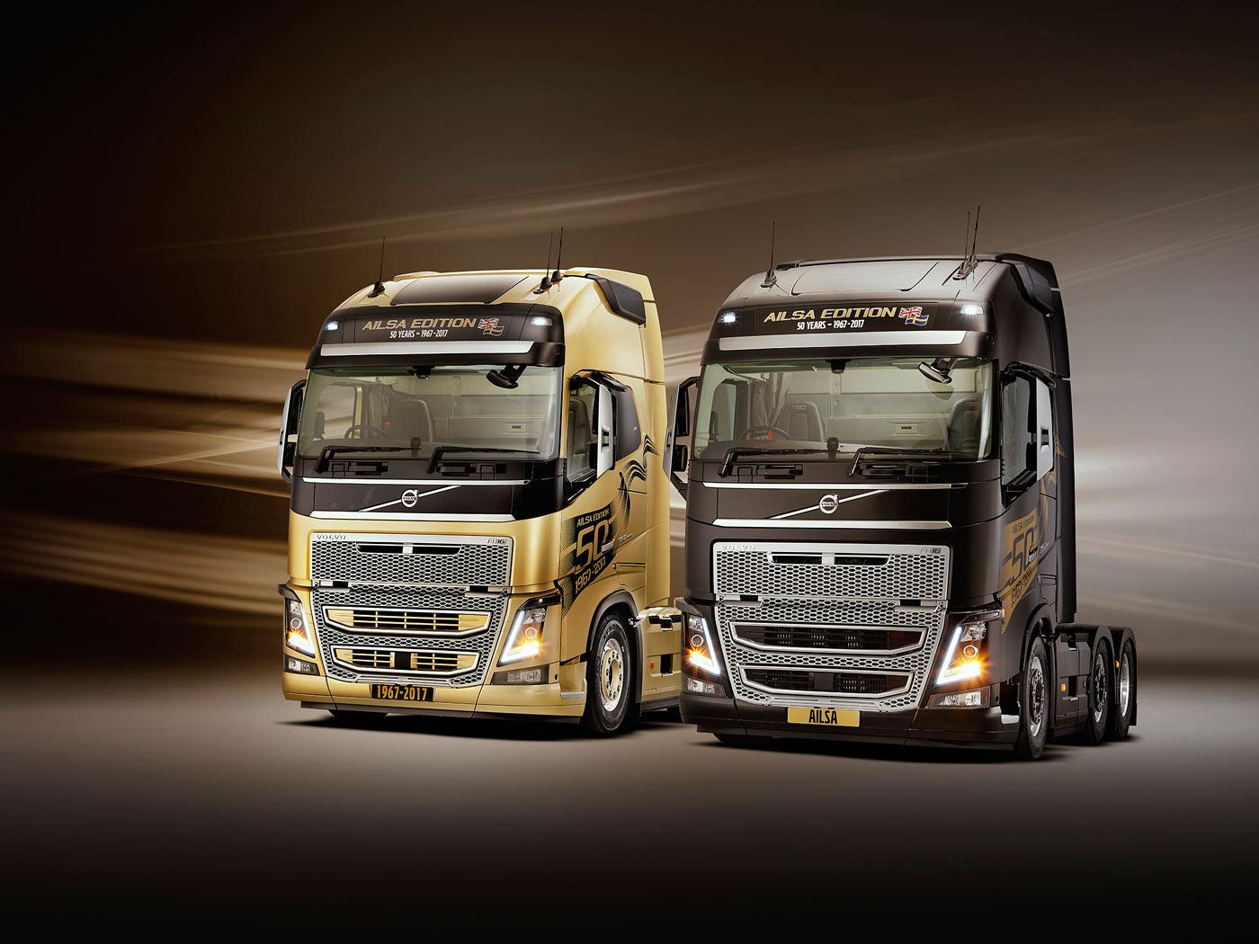 Volvo FH 'Ailsa' Edition (Limited editions) - Trucksplanet