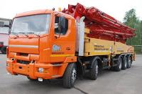Chassis MZKT-700650 for concrete pump