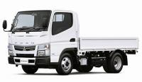 All-wheel drive Canter for Japan