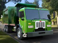Updated Peterbilt 320 goes to streets