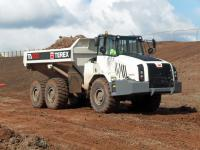 Terex unveiled the 9th generation articulated truck range