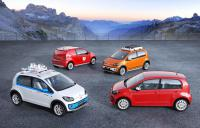 4 new Volkswagen Up! concepts will be presented in Geneva
