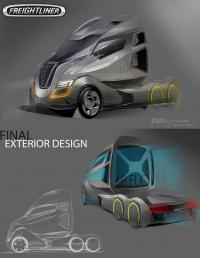 Freightliner announced the winner of design competition