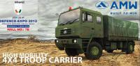 DefExpo 2012: AMW unveiled its first military truck