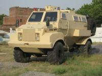 Kraz in partnership with Indian company SLDSL presented armored prototype of MRAP
