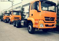 New construction trucks Shaanxi with MAN TGA cabin