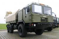 MZKT presented a new range of army chassis MZKT-6001