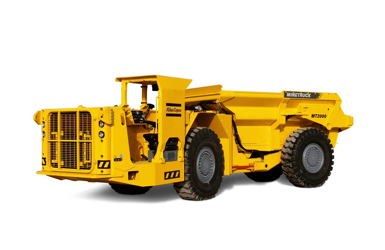 Atlas Copco Minetruck MT2000 / MT2010 (Special vehicles) - Trucksplanet