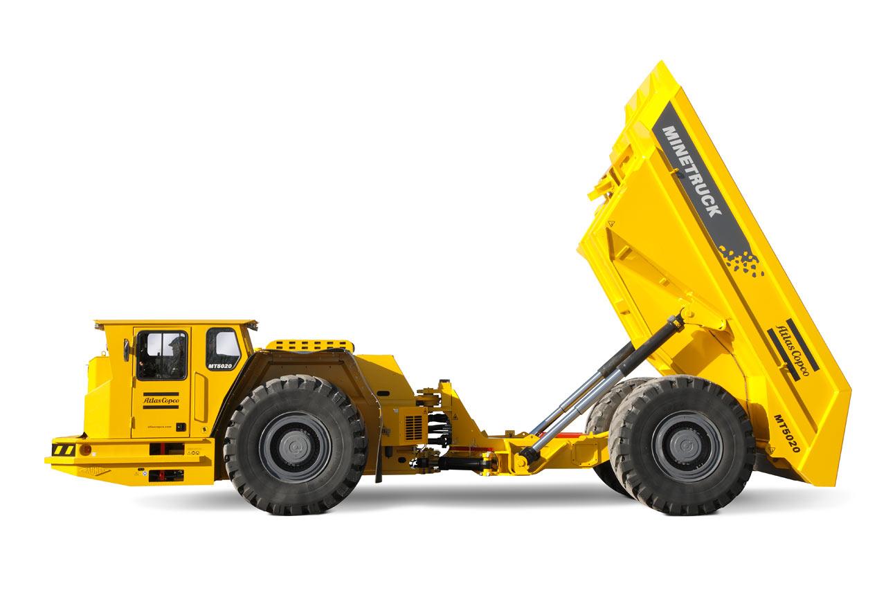 Atlas Copco Minetruck MT5010 / MT5020 / MT6020 (Special vehicles) - Trucksplanet