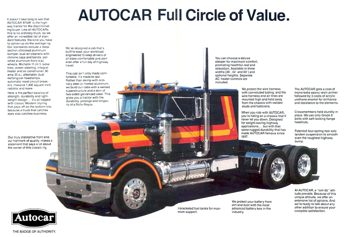 Autocar AT64F Commercial Vehicles