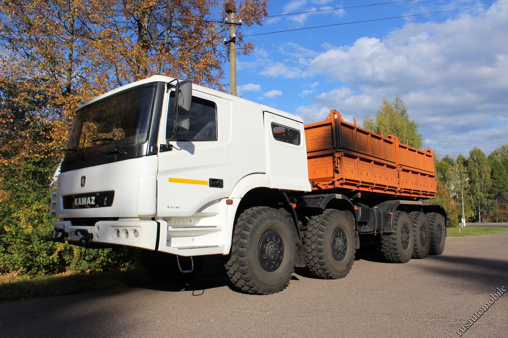 G Mercedes 2019 >> KamAZ K5340 (7360) (Special vehicles) - Trucksplanet
