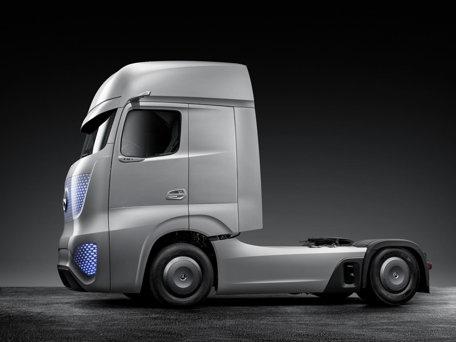 大货车自主驾驶 奔驰future truck 2025高清图片