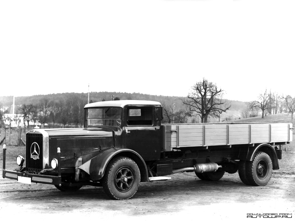 Old Mercedes Truck Models