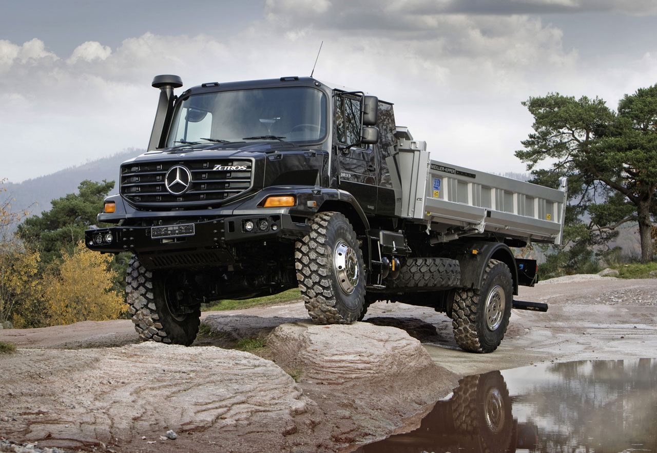 mercedes benz zetros commercial vehicles trucksplanet