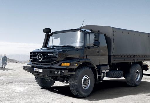 Mercedes benz zetros military vehicles trucksplanet for Mercedes benz military vehicles