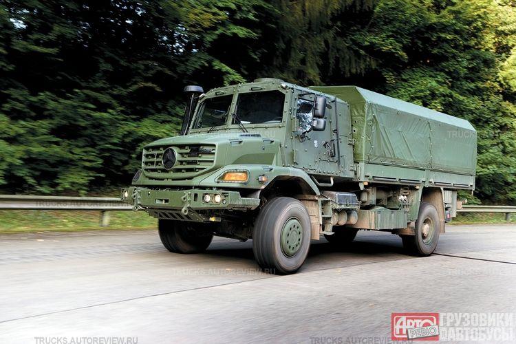 Mercedes Zetros 6x6 Autos Post