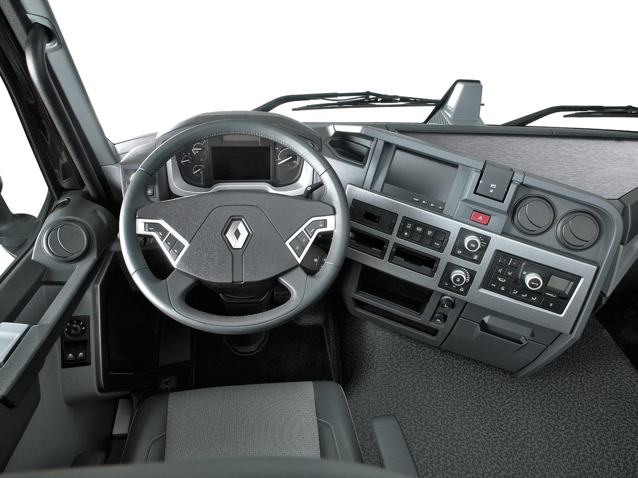 Interior Renault T Range