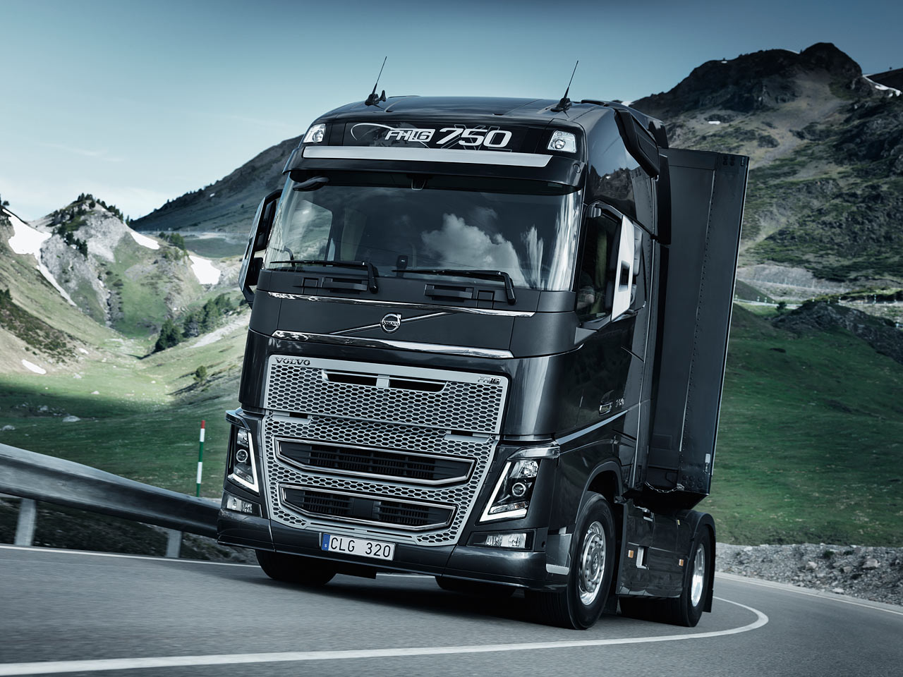Volvo  FH 3rd generation (Commercial vehicles)  history